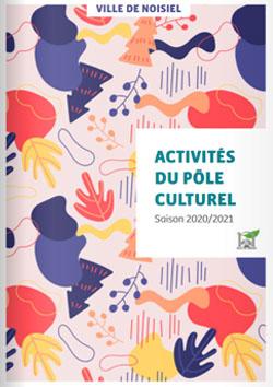 Couverture Activités du Pôle culturel