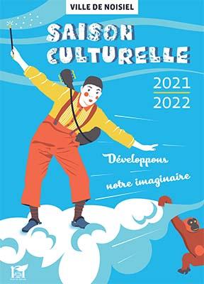 Couverture Saison culturelle 2021/2022